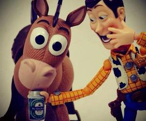 toy story, woody, and funny image