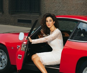 monica bellucci, car, and red image