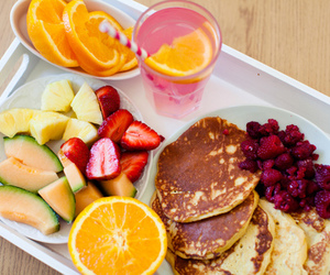 fruit, food, and breakfast image