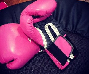 pink and boxing image