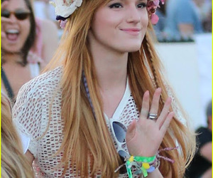 coachella, flores, and hairstyle image