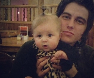 kellin quinn, sleeping with sirens, and baby image
