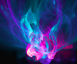 blue, pink, and colors image