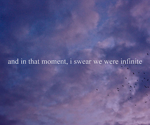 infinite, sky, and quote image