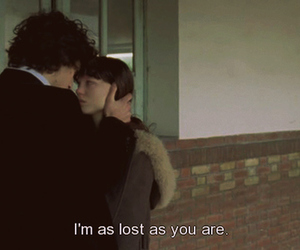 lost, couple, and quotes image