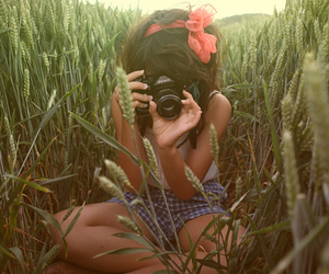 camera, cute, and girl image