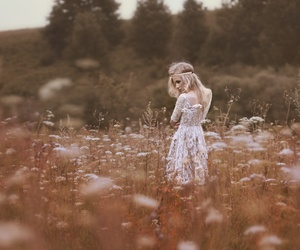 beauty, fantasy, and dress image