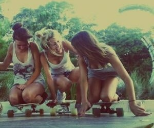 friendship, friends, and skate image