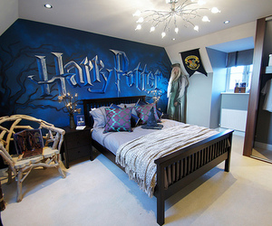 bedroom, harry potter, and silente image