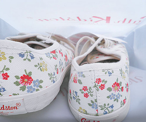shoes, cath kidston, and floral image