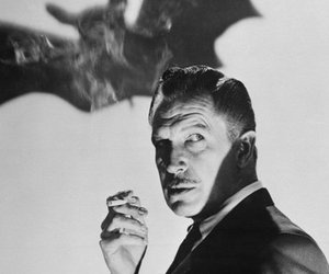 b&w and vincent price image