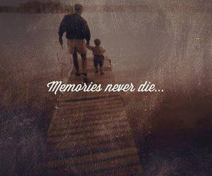 memories, quote, and never image