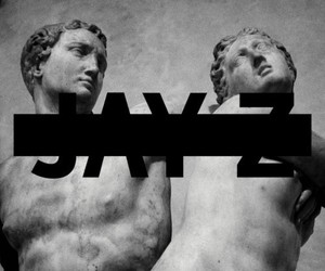 album, statue, and jay z image