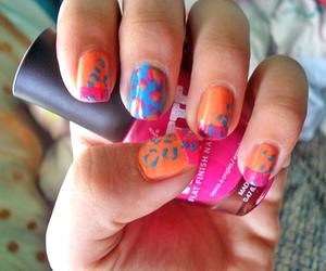 girl, nail, and nail polish image