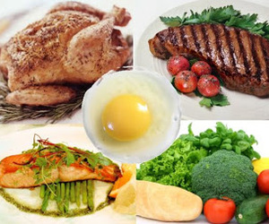 high protein diets and low carb diets image