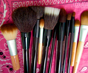girl, make up, and photography image