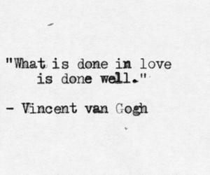 art, quotes, and vincent van gogh image