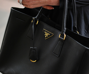 bag, luxury, and Prada image