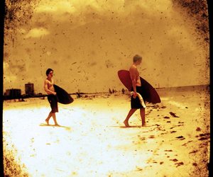 summer and surfer image