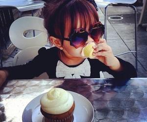 cute, cupcake, and baby image