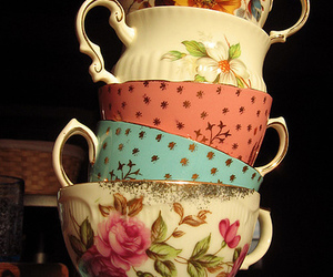 cups, cute, and vintage image