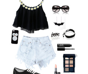 outfit, swag, and black image