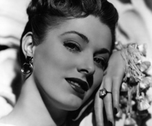 black and white, Eleanor Parker, and vintage image