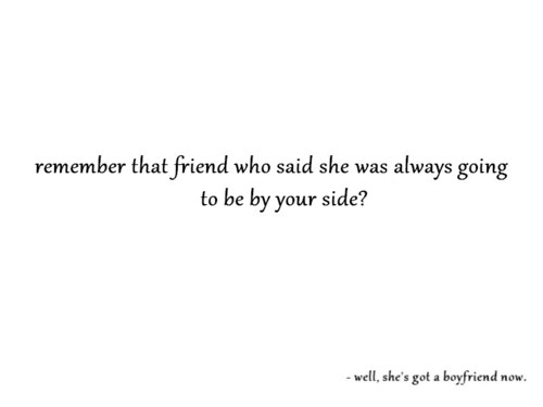 End Of Friendship Tumblr On We Heart It