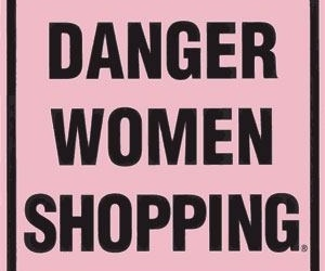 shopping, women, and danger image
