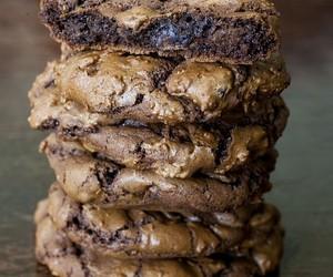 chocolate, Cookies, and coffee image