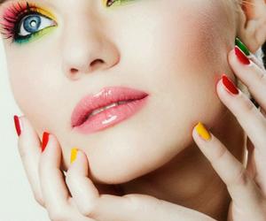 makeup, make up, and colorful image