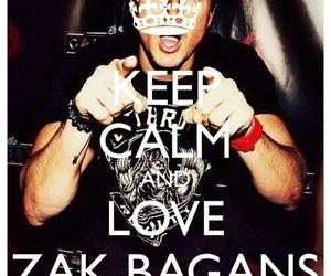 zak bagans, love, and keep calm image