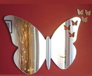 mirror and butterfly image