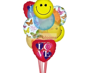 for her, buy online balloons, and balloons delivery image