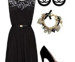 black, elegant, and outfit image