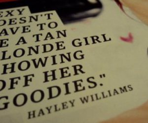 hayley williams, paramore, and quote image