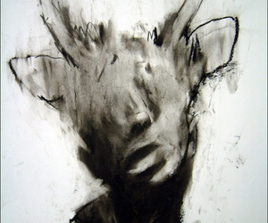 antlers, charcoal, and skin walker image