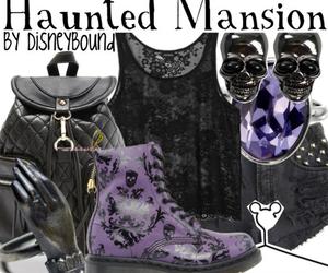 disney world, haunted mansion, and disneybound image