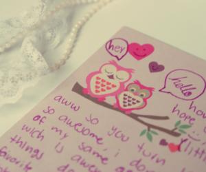 Letter, penpals, and snailmail image