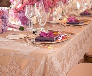 decorations, violet, and ecru image