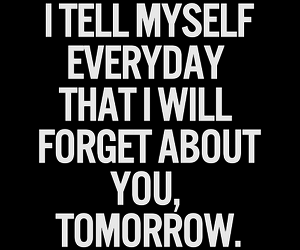 forget, myself, and quotes image