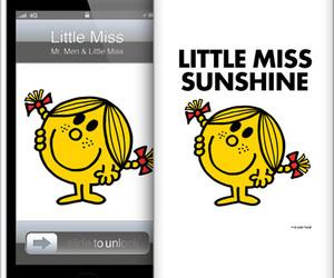 cartoon, lovely, and little miss sunshine image