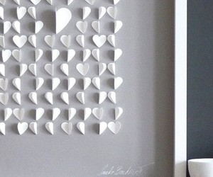 hearts and white image