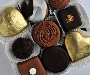 bonbon, food, and chocolate image