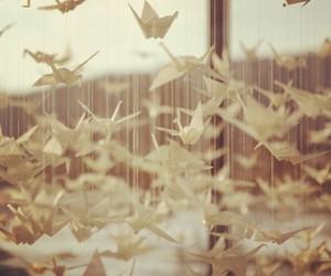 art, beautiful, and origami image