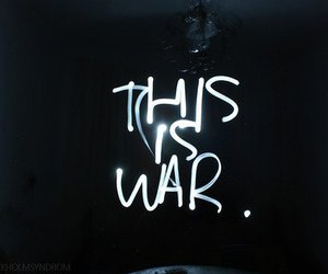 war, light, and this is war image