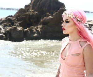 pink hair and kelly eden image
