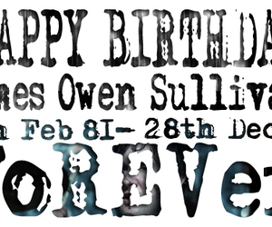 a7x, forever, and happy birthday image