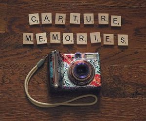 memories, phrase, and photo image