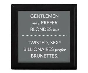 blondes, fifty shades of grey, and brunettes image
